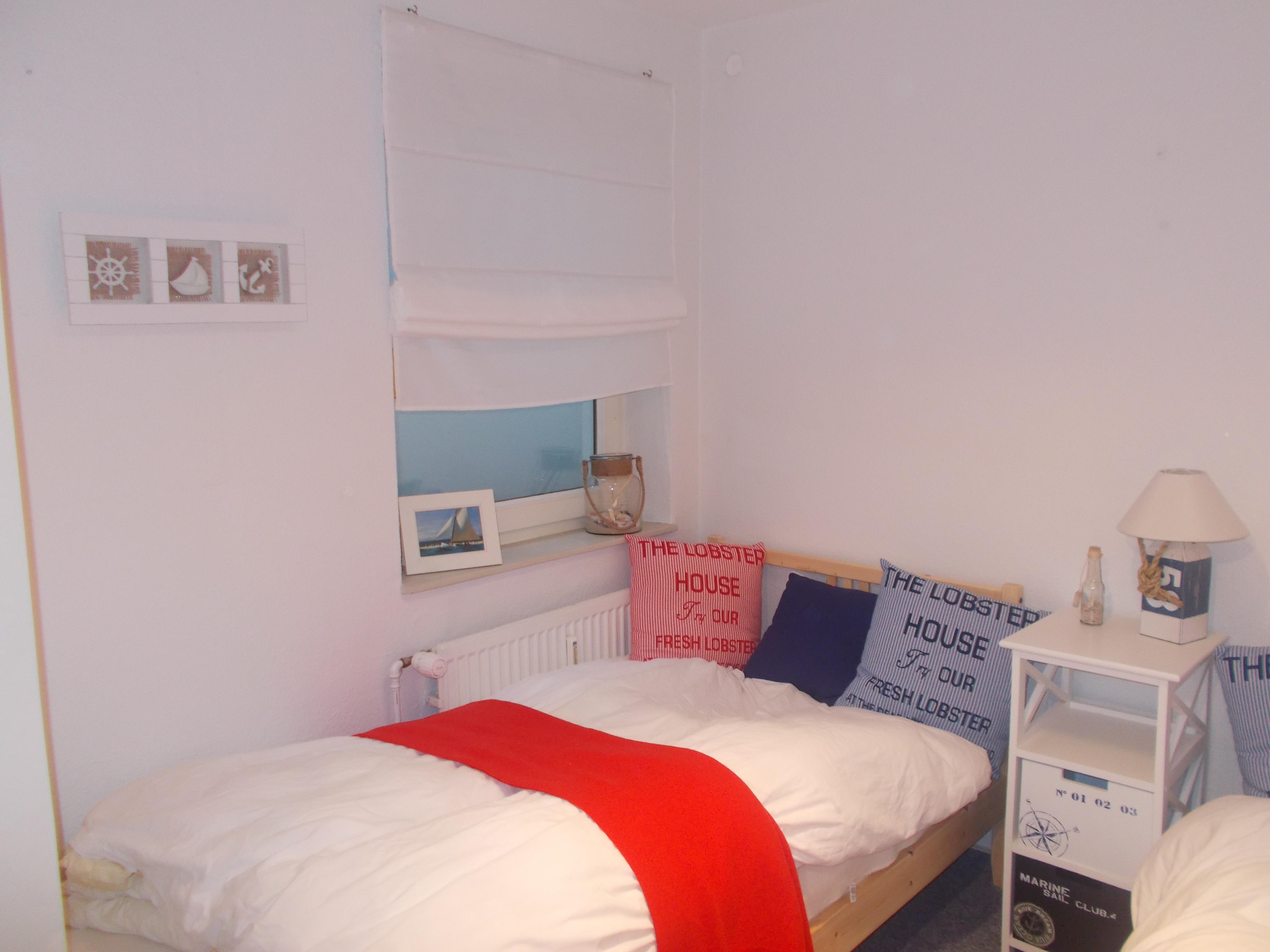 Die Schlafzimmer - Gartenwohnung auf Sylt